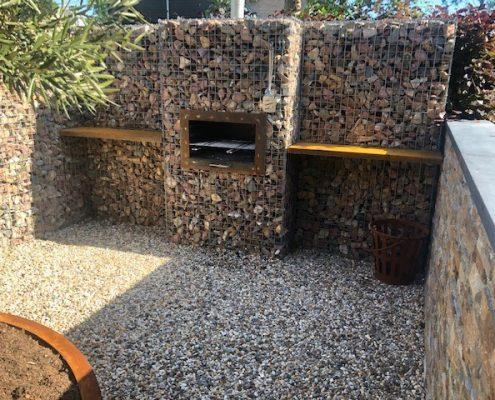 BBQ-kachel steenkorf